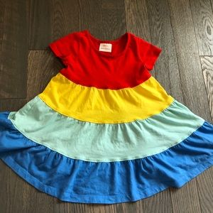Hannah Anderson rainbow 🌈 tiered dress size 3T